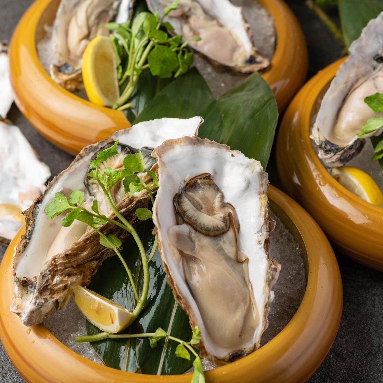 新鮮な牡蠣を贅沢に!!