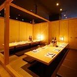 【宴会個室】 2名様から30名様まで、幅広く個室対応可能!