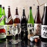 日本酒を楽しむ♪ こだわりの地酒から定番まで多種多様にご用意