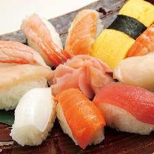 寿司食べ放題!