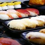 白米ではなく、寿司で焼肉を食べる、 これがロイン亭のやり方。