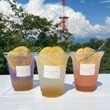 3種のレモンスカッシュ