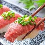 【厳選食材】名物肉寿司【佐賀県】