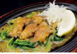 広島県産牡蠣の雲丹ソース焼き