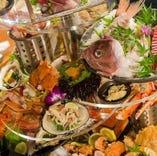 北海道の食材を使った絶品が勢ぞろい!海鮮から肉まで楽しめる♪