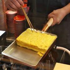 お寿司から一品料理まで手を抜かず