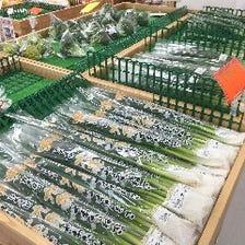 直売所の野菜をメインに野菜いっぱい