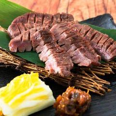 【仙台風】厚切り牛タンの炙り焼き