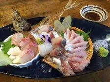 本日の天然鮮魚!お刺身盛り合わせ!
