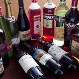 料理と相性抜群なイタリア樽生ワイン、ボトルも充実♪