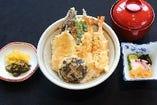 天丼(小鉢・みそ汁・香物付)