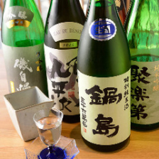 <常時約15種>京の地酒・全国の地酒