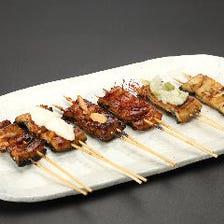 うなぎの串焼き各種(1本)