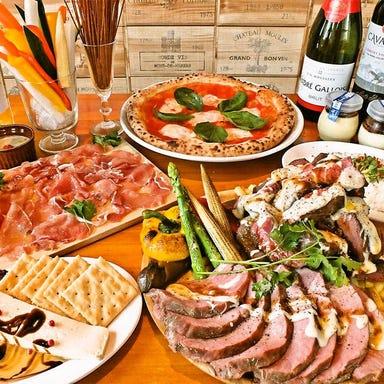 イタリアン酒場 びすとろ椿々 cin‐cin ひたち野うしく コースの画像
