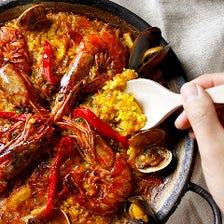 スペイン料理ランチ