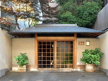 京風情溢れる数寄屋造りの佇まい