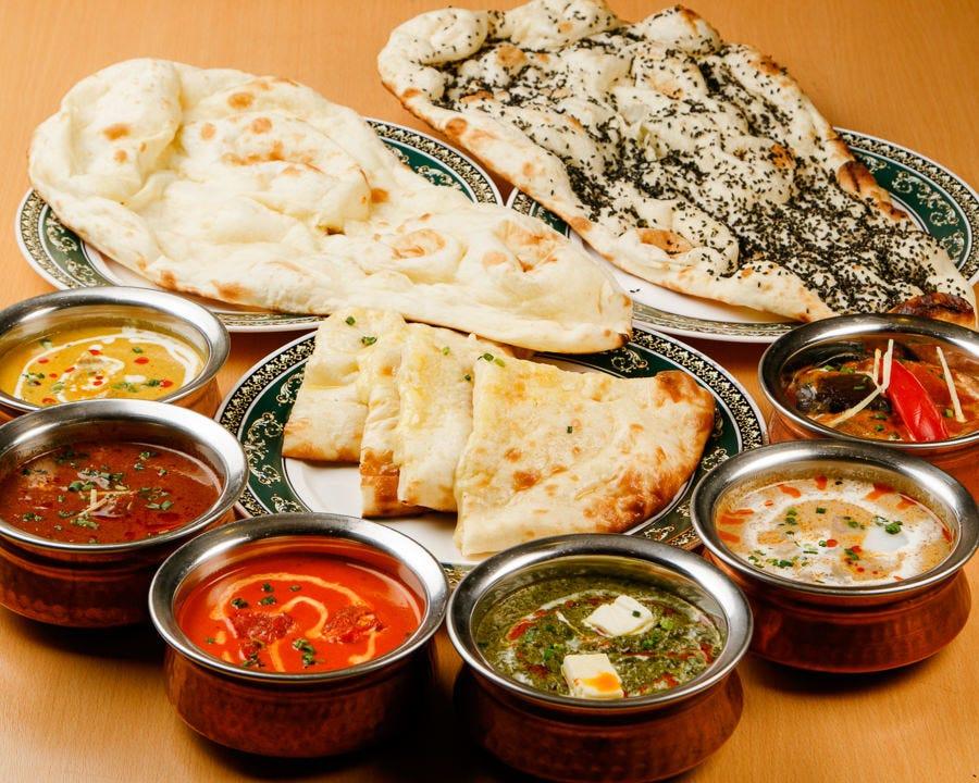 スパイス香る本格インド料理