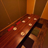 5~33名様ご案内可能な完全個室のお席は接待・合コンに最適です