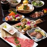 本格和食の飲み放題付コースが4,000円(税込)~