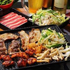 横浜モアーズ 食べ放題 BBQ ビアガーデン