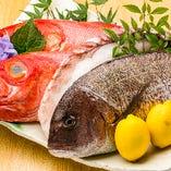 毎朝直送!季節の旬鮮魚を使用!【東京都】