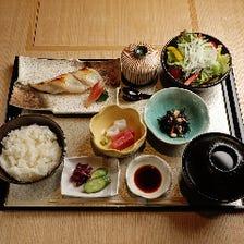 銀鱈の西京焼き定食