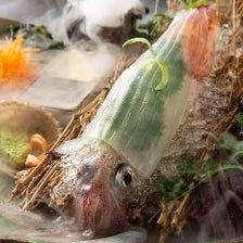 鮮度に自信。活きの良い魚をお刺身で