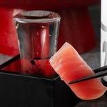 【魚に合うお酒】 九州各地の焼酎や地酒をご用意しております。