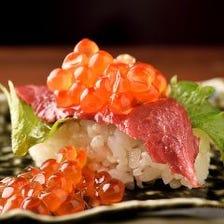寿司×肉で生まれる新たなスタイル