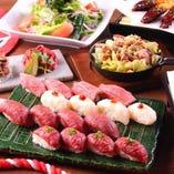 ◆充実のコース◆ 馬・牛・鶏肉など多様に調理した内容でご提供