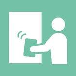 ◆テーブルや椅子、ドアノブなど共用部分は お客様の入れ替わり時に消毒しております
