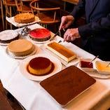 [パティシェ特製ドルチェ] 季節のデザートをお楽しみください