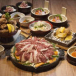 サフォークラム肉使用、極旨ジンギスカンコース。