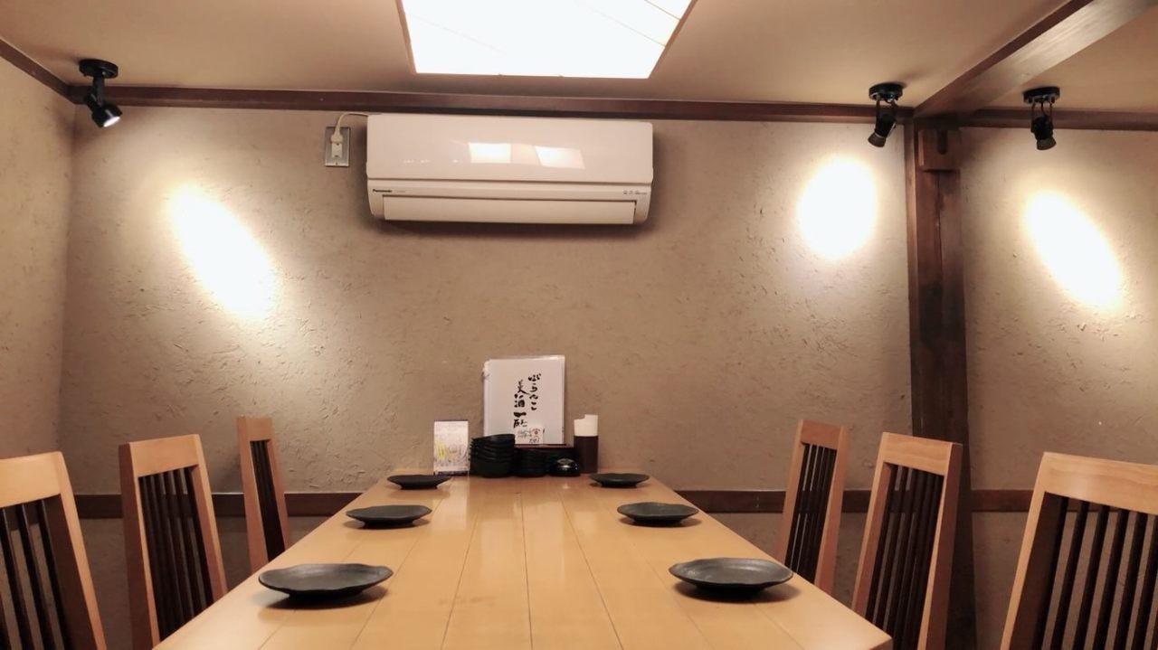 テーブル席・3名様~6名様