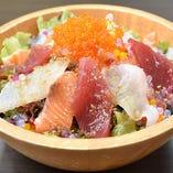 海鮮和風サラダ
