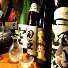 愛知の地酒や日本酒、豊富な取り揃え