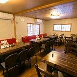 【2階 テーブル席/少人数~27名様まで】京都・嵐山観光の思い出に
