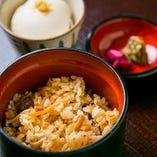 京のおいしさ満載「おぼろ豆腐」「かやくごはん」