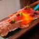 仙台牛炙り寿司 お客様の目の前で炙らせていただきます。