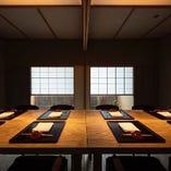 テーブル個室(~4名様×2卓)
