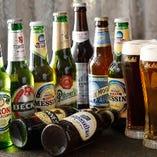 ◆国産&海外のビールも多数ご用意!!