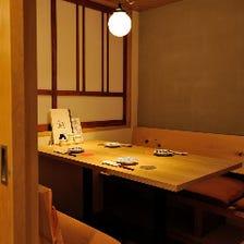 格別を肌で。美食家を迎える寛ぎ空間