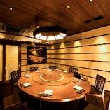 完全個室完備。プライベートな空間が欲しい方にもピッタリです。
