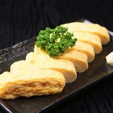 鹿児島県産食品安全コンクール最優秀賞受賞卵使用の特製出し巻き玉子