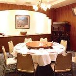 《1階 個室》 接待や記念日などにぴったりな優雅な空間です