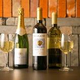世界各国のワインを取り揃えております