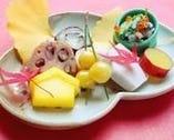 旬の食材と季節感を愉しめる