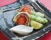 秋刀魚とトマトの包み揚げ