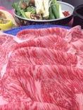 中川畜産ブランドプレミアムすき焼きコース