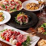 ご宴会に最適な飲み放題コースは4種!いずれも自慢の逸品揃い!